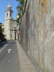 Santiago de Compostela, ciudad de España, capital de la comunidad autónoma de Galicia, pertenece a la provincia de La Coruña (España)