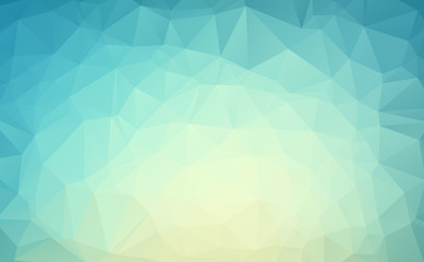 Blue White Polygon Abstract modern Polygonal Geometric Triangle Background.