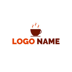 Logo coffee Cup, logo suitable for coffee shop , shops for selling coffee and more