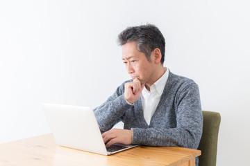 シニア 男性 パソコン