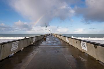 Pacifica Pier Rainbow