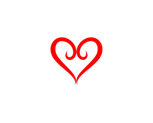 Love Logo and symbols Vector Template icons app vector