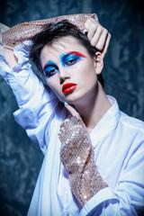 creative makeup concept