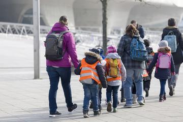 Ausflug einer Schulklasse