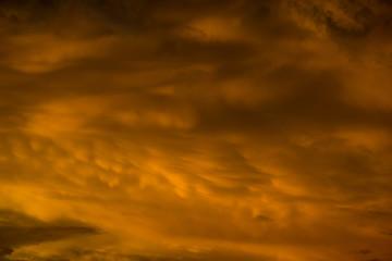 beautiful Cloudy sunset sky