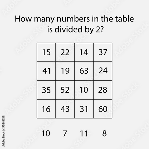 How many counting game with numbers divided by 2 for kids ...