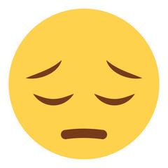 Emoji bedauernd