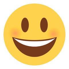 Emoji lachend