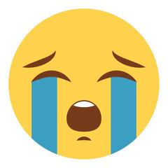 Emoji heulend