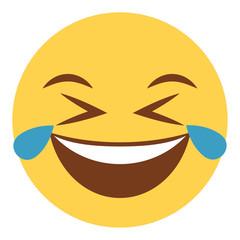 Emoji Tränen lachend