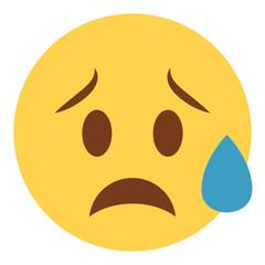 Emoji traurig