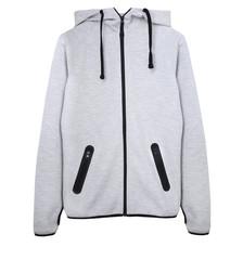 Sport grey jacket isolated.