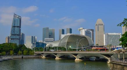 Foto op Plexiglas Singapore Marina Bay in Singapore