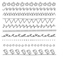 Line doodle illustration