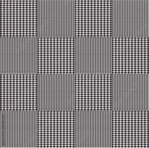 glencheck muster grafik illustration - Glencheck Muster