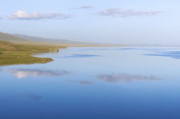 Song Kol Lake, Naryn province, Kyrgyzstan, Central Asia, Asia