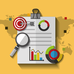 Search photos map world map document business marketing target statistics data vector illustration gumiabroncs Gallery