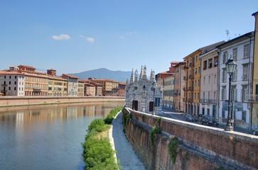 monument de la ville de Pise en Toscane
