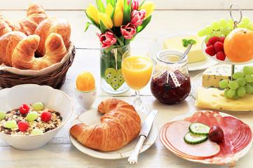 osterliches Frühstück