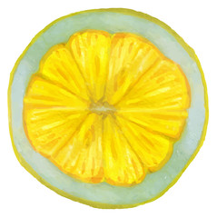 Bright Lemon Slice.