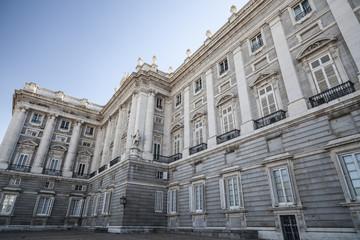 Royal Palace, Palacio Real, Madrid.Spain.