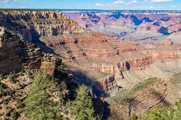 Scenic Grand Canyon South Rim Landscape