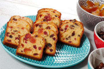 delicious dried fruit cake