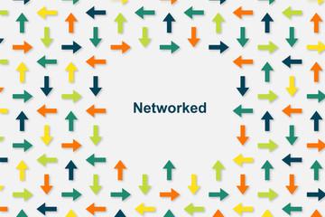 Wallpaper Pfeile - Networked