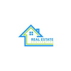 Real estate. Vector logo template