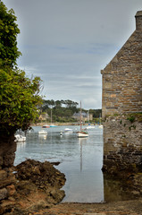 Le Conquet, Brittany, the port