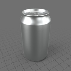Sealed soda can