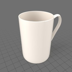 Tall, thin coffee cup