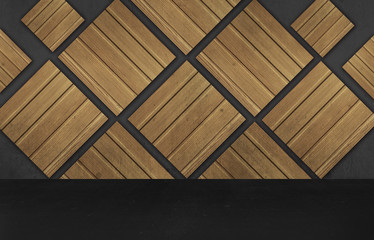 Wall, wood texture, background, frame, poster