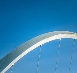 Abstract Contemporary Bridge Detail