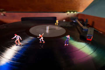 Miniature Roller Skaters Record