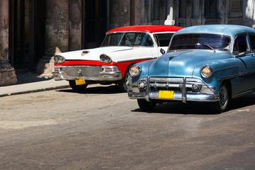 Old cars. Cuba, Havana