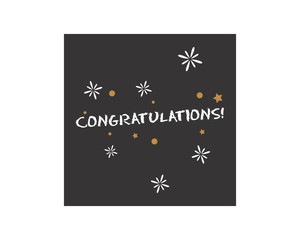 congratulations typography typographic creative writing text image 4