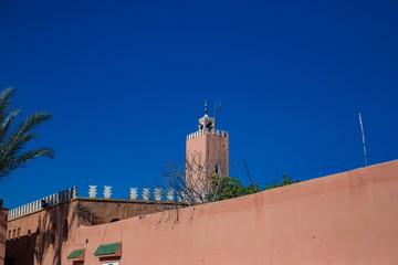 マラケシュの旧市街