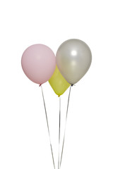 Multicolored Colorful Balloons Isolated