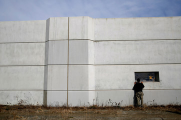 The Wider Image: After tsunami, some Japanese are feeling walled-in