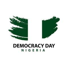 Democracy Day Nigeria Vector Template Design