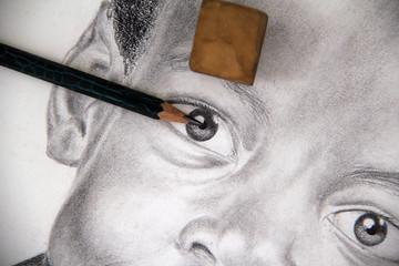 Sketch art concept