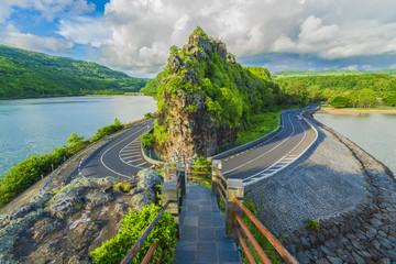 Wall Mural - Maconde view point, Baie du Cap, Mauritius island, Africa