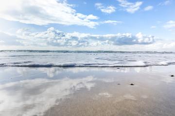 Welle am Strand