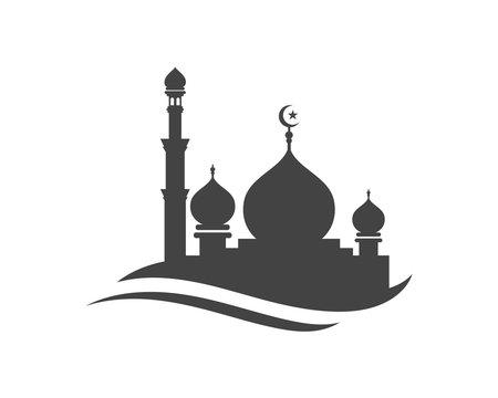 Mosque icon vector Illustration
