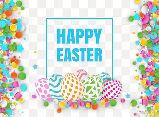 Happy Easter 3d Design