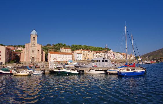 Port de Vendres in France