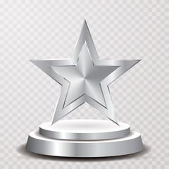 silver star podium