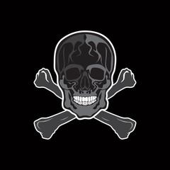 skull vector symbol