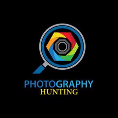 photography vector logo
